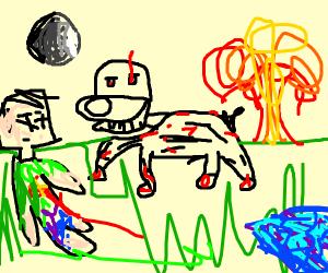 Spooky Dog - Drawception