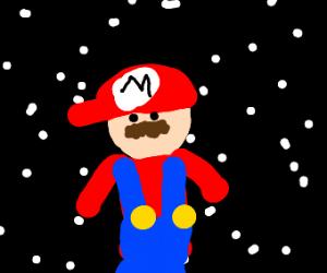 Mario lost in deep space