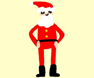 Santa has lost weight