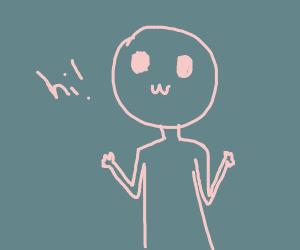 hi! i'm mr happy face tiny hands :)