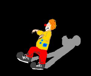 Incognito clown