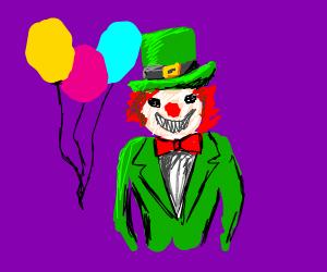 lepracaun clown