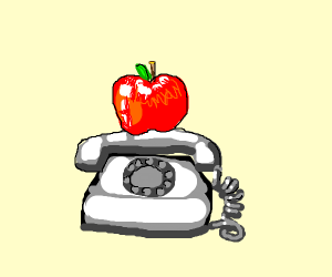 Apple On Phone