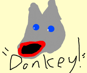 Donkey from Shrek(?)