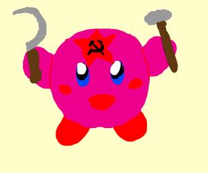 kirby loves communism