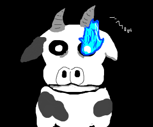 A cow version of Sans