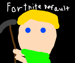 Fortnite man has no nose or mouth