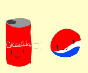 Coca - Cola = Pepsi