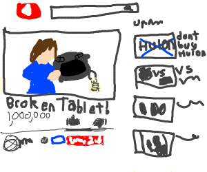 $300 drawing tablet doesnt work NOT CLICKBAIT