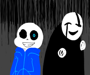Sans and Gaster