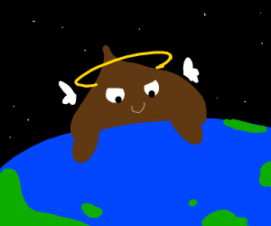 Angel poop takes over the world!!