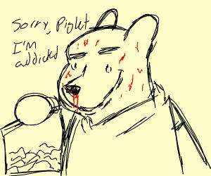 Winnie the pooh does meth
