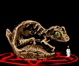 lizard ritual