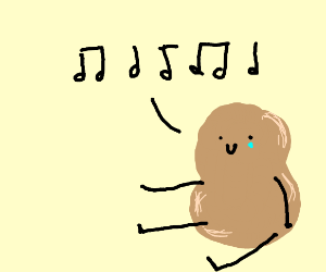 lonely potato singing