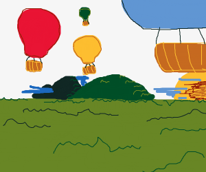 The Great Balloon Escape