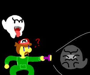 ghost and mario