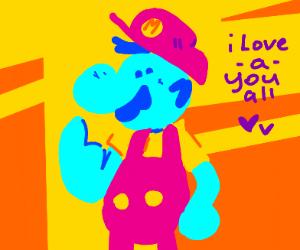 Mario loves-a you all!