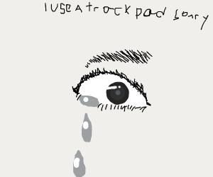crying eyeball