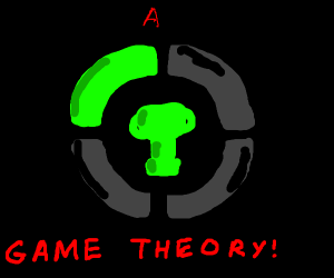 but that's just a theory A GAME THEORY