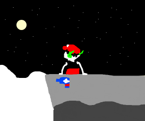 Quote (Cave Story) looking at the horizon c: