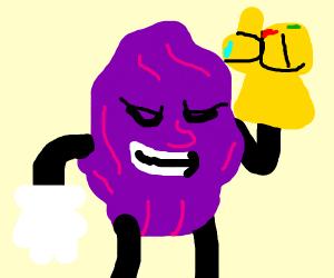 Thanos the California raisin