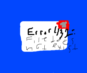 Error 431 file does not exist
