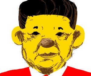 Xi Jinping aka Winnie the Pooh