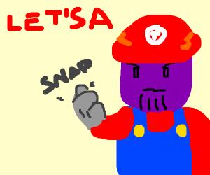 Mario thanos