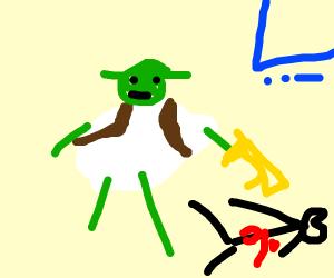 Shrek kills people in Fortnite