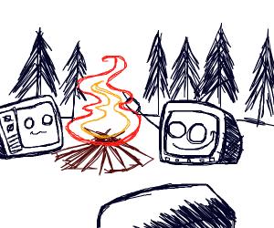TVs camping