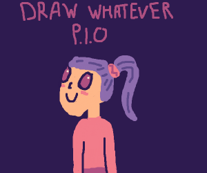 Draw whatever pio