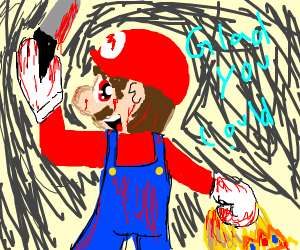 Mario on a killing spree