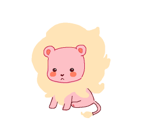 Lil pink lion! (Su maybe?)