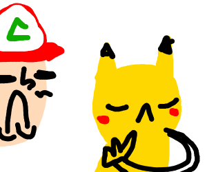 pikachu refuses to be chosen by ash