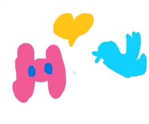 pink discord x twitter (I ship it)