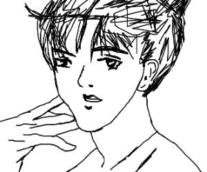 Scary Anime Of Sexy Man Drawception