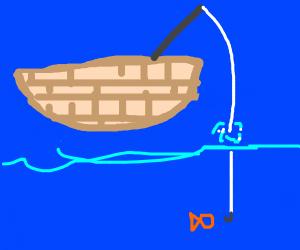 Man captures the spirit of fishing