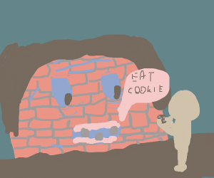 Grandma wall want you to eat cookie