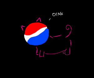 pepsi pig