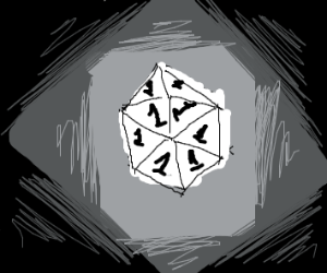 Rolling a 1 on every d20