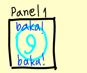 panel 1 is a total nineball