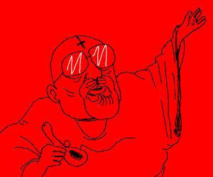 """Walter White: """"Smoke meth, hail Satan"""""""