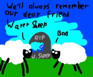 water sheep memorial