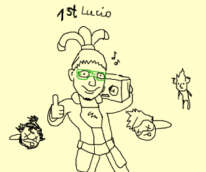 Lucio 'beats' out the competition