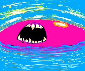 Pink ball screeches to ocean
