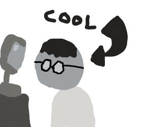 cool nerd tech guy