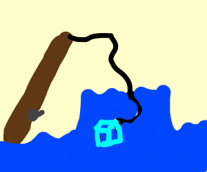 Fishing for an Icecube