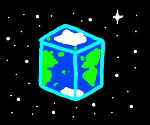 The Earth is a cube