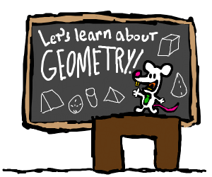 Mouse teaches geometry