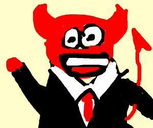 Satan gives a tour of heck